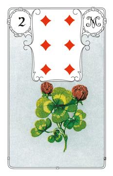 Lenormandkarte Der Klee