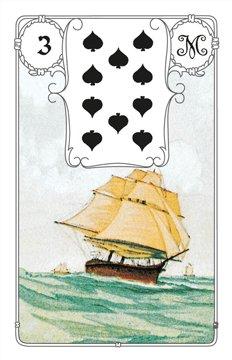 Lenormandkarte Das Schiff