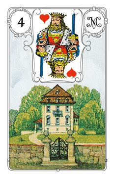 Lenormandkarte Das Haus