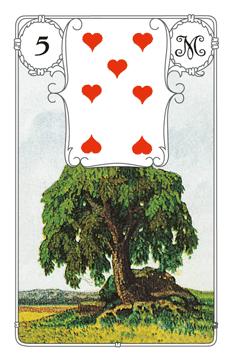 Lenormandkarte Der Baum