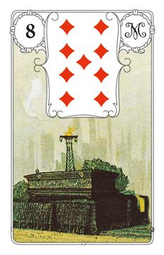 Lenormandkarte Der Sarg