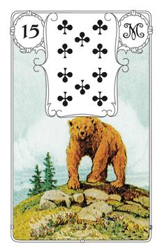 Lenormandkarte Der Bär