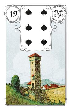 Lenormandkarte Der Turm