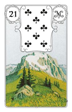 Lenormandkarte Der Berg