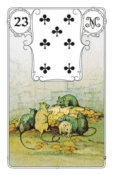 Lenormandkarte Die Mäuse