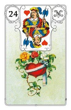 Lenormandkarte Das Herz
