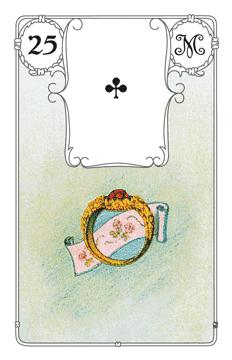 Lenormandkarte Der Ring