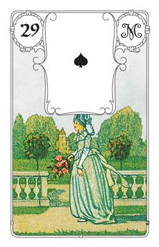 Lenormandkarte Die Frau