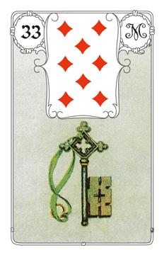 Lenormandkarte Der Schlüssel