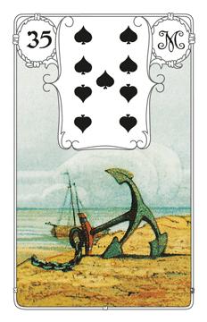 Lenormandkarte Der Anker