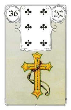 Lenormandkarte Das Kreuz